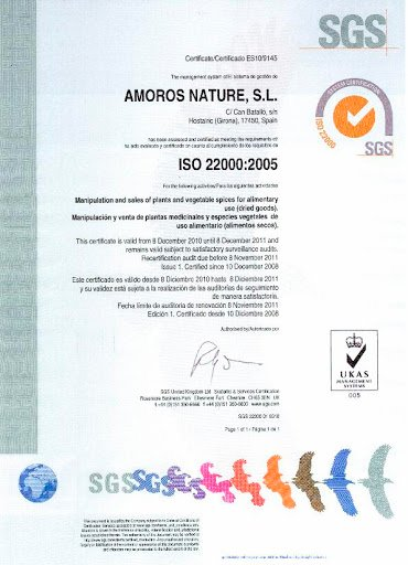 RENOUVELLEMENT ISO 22000