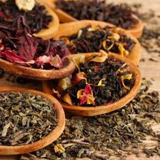 TEA <span>Teas, flavored teas</span>and infusions