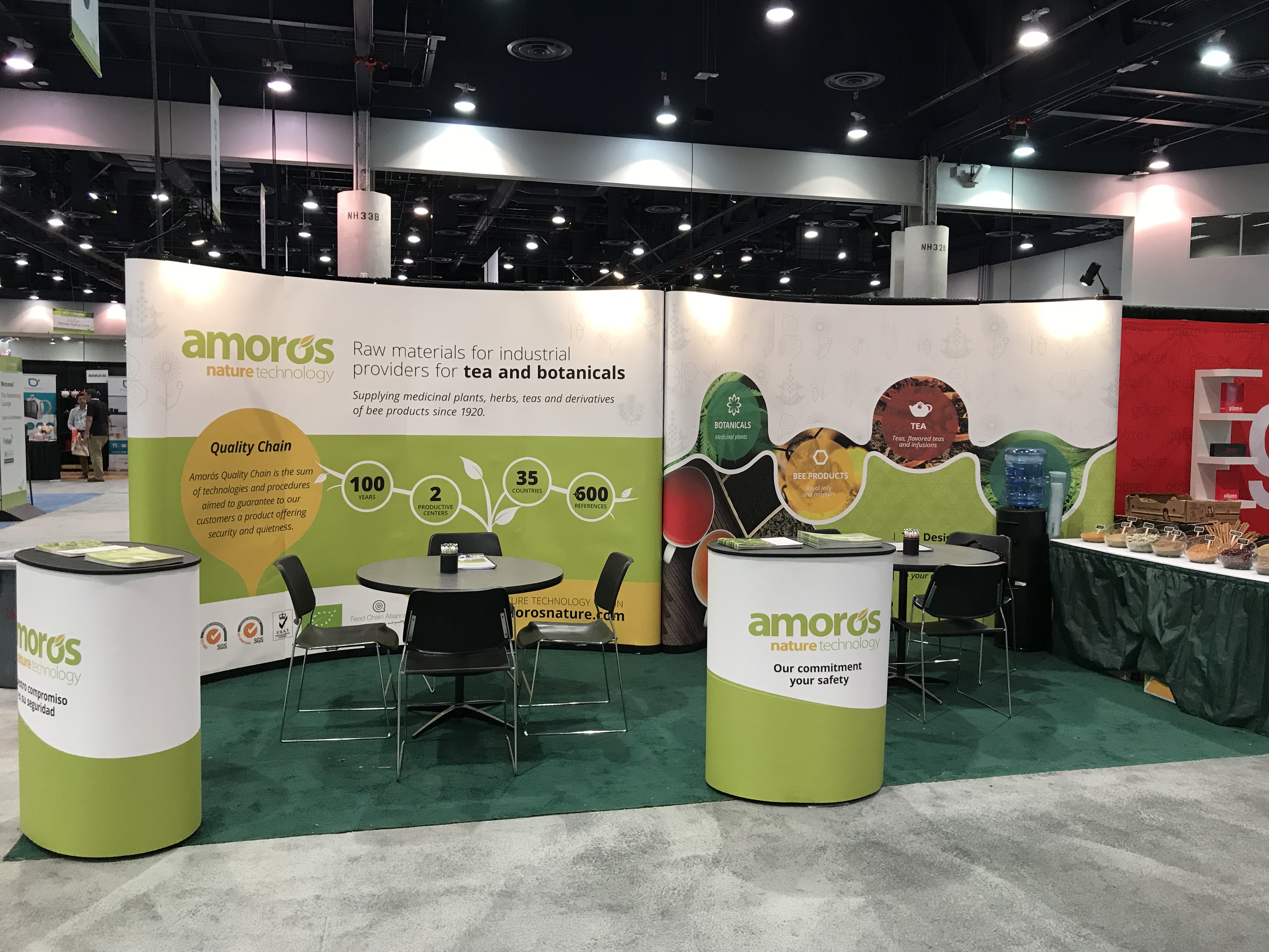 Amoros Nature in the World Tea Expo (Las Vegas, USA)